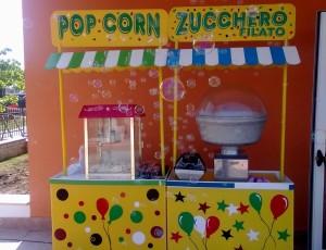 Pop Corn e Zucchero filato